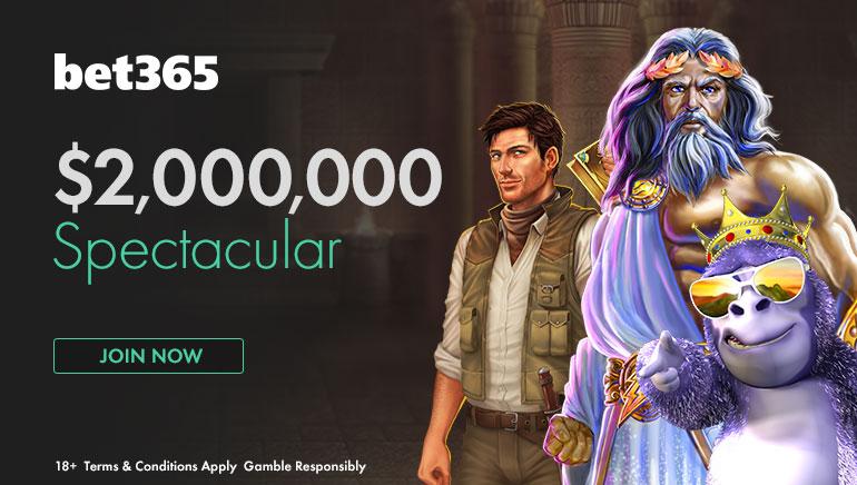 Vyhrajte obrovské ceny v bet365: Spectacular a 2 milióny $ tento máj