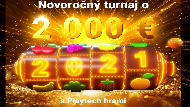 Vyhrajte až 350 € s prvým novoročným turnajom DOXXbet Casino