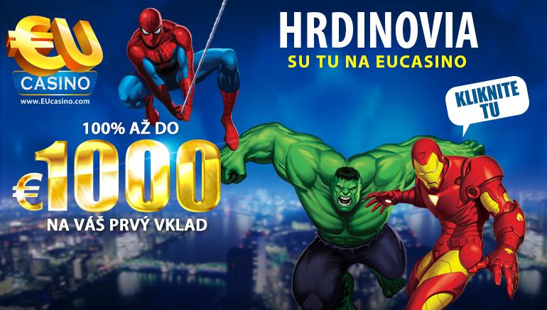 Najlepšie online kasína pre hráčov zo Slovenska
