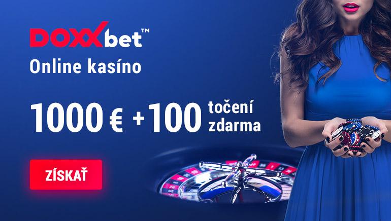 Vyberte si svoj uvítací bonus až do 1 000 € v DOXXbet Casino