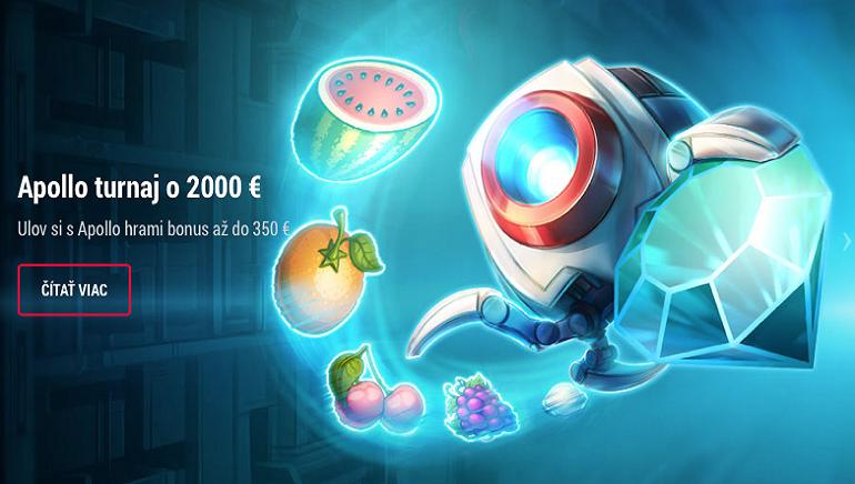 Získajte svoju cenu v exkluzívnom turnaji o 2 000 € v kasíne DOXXbet