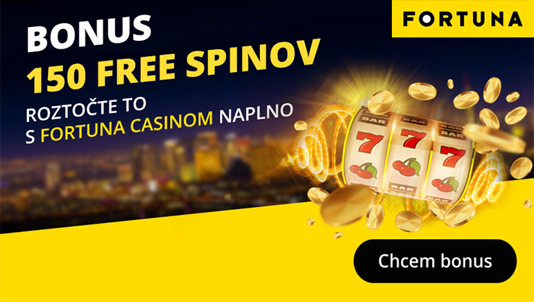 Fortuna Casino rozdáva až 1 000 € v uvítacích bonusoch