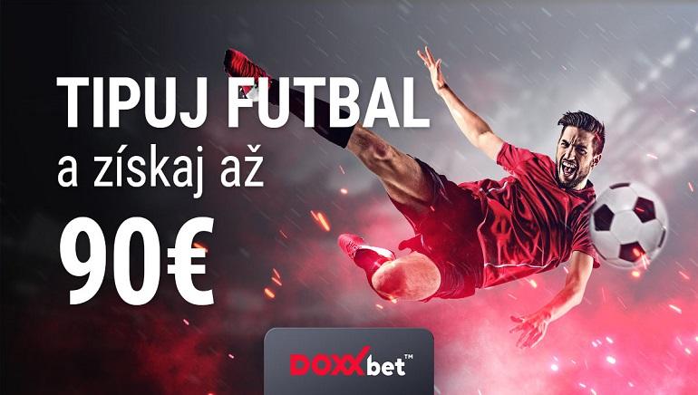 DOXXbet oslavuje začiatok európskeho futbalu s bonusom 90 €