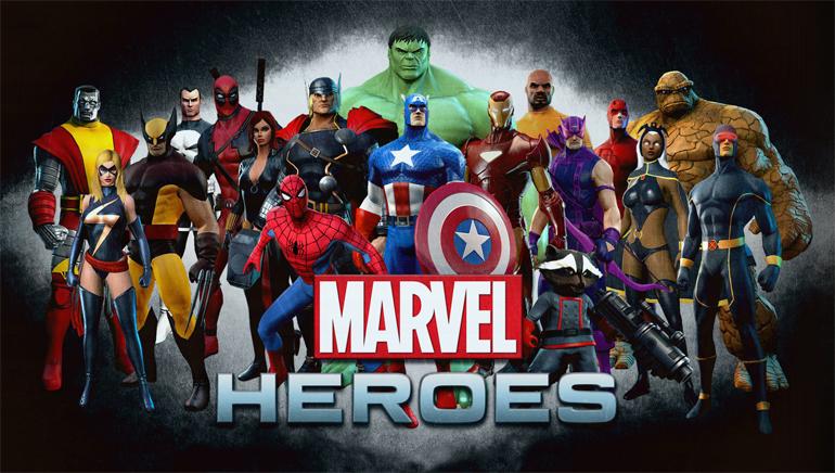 Pridajte sa k Marvel Heroes v online kasíne