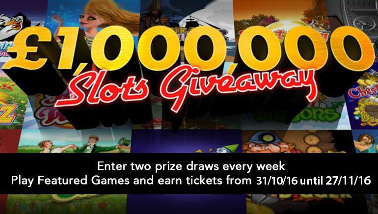 Vyhrajte balík s akciou 1 000 000 £/$ v bet365 tento november